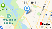 Отдел дознания, ГУ МВД РФ по Гатчинскому району на карте