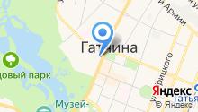 Управление МВД России по Гатчинскому муниципальному району на карте