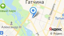 Отдел по миссионерской и молодежной работе Гатчинской епархии на карте