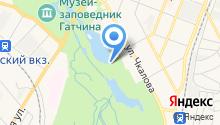Приоратский дворец на карте