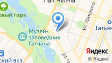 Латона на карте