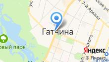 ДНП Вревское на карте