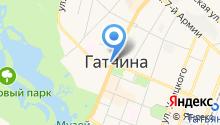 Центральный Банк РФ на карте
