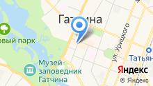 Гатчинская городская прокуратура на карте