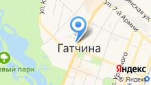 Комитет образования Администрации Гатчинского муниципального района на карте