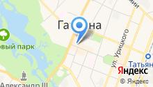 Муниципальный фонд поддержки малого и среднего предпринимательства Гатчинского муниципального района на карте