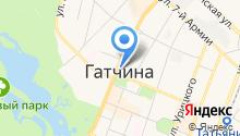 Ленинградская областная коллегия адвокатов на карте