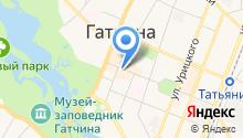 Гатчинский городской спортивно-досуговый центр на карте