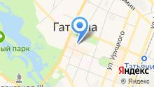Адвокатская палата Ленинградской области на карте