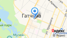 Администрация Гатчинского муниципального района на карте
