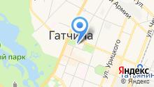 Комитет градостроительства и архитектуры Администрации Гатчинского муниципального района на карте