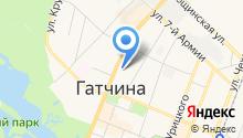 Гатчинская служба новостей на карте