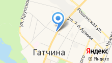 Интермедфарм-Гатчина, ЗАО на карте