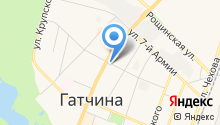 Церковь святого Николая на карте