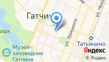 Отдел по содействию и развитию малого и среднего предпринимательства Администрации Гатчинского муниципального района на карте