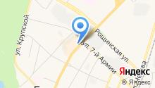 АКБ Легион на карте