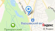 Салезианский центр имени Дона Боско на карте