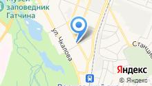 Гатчина mobile на карте