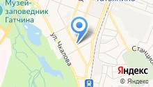 Варшавский на карте