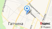 Производственно-эксплуатационное коммунальное предприятие, ФГУП на карте