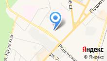 Центр крови Ленинградской области в г. Гатчина на карте
