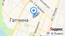 Интершина на карте