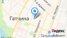 Отдел судебных приставов по Гатчинскому муниципальному району на карте
