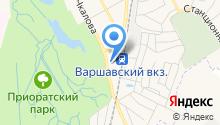 Автостанция г. Гатчины на карте