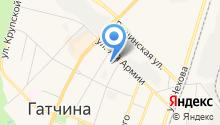 Управление Ленинградской области по государственному техническому надзору и контролю на карте
