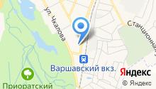 Почтовое отделение №188304 на карте