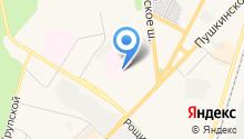 Гатчинская клиническая межрайонная больница на карте