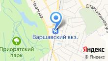 ЦДУ на карте