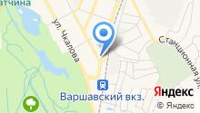 СОМ на карте