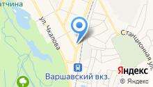 Агент-Стройпроект на карте
