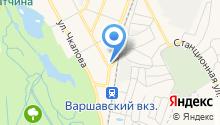 Хибара на карте