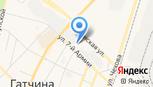 СЗДК на карте