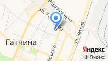 Гатчинский городской спортивно-досуговый центр, МБУ на карте