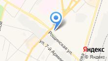 Иствинд на карте