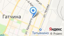 Комитет по культуре и туризму Гатчинского муниципального района на карте