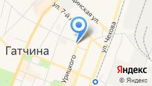 Магазин цветов на ул. Урицкого на карте