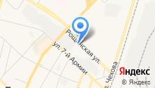 Почтовое отделение №188306 на карте