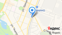 Автостоянка на ул. Чехова на карте