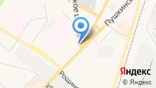 Магазин бытового газового оборудования на карте