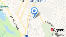 Гатчина-Агрострой на карте