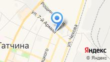 """СПА-центр """"Ингербургский"""" - Салоны spa-процедур в Гатчине на карте"""
