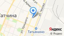 Юр-Экспресс на карте