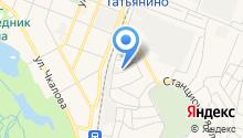 Гатчинский на карте