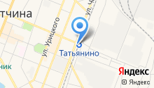 Татьянино на карте