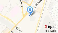 Автостоянка на Пушкинском шоссе на карте