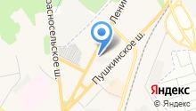 Магазин-салон теплотехники на карте